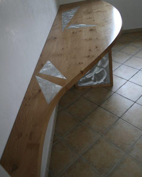bureau-chene-massif-et-aluminium-brosse
