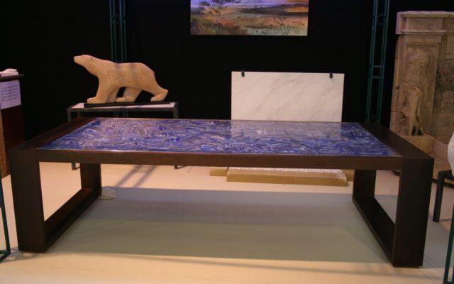 table en lapis lazuli